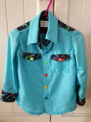 Cowgirl/Cowboy Western Camdraft Rodeo Shirt Toddler Size 2