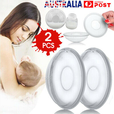 2Pcs Breast Milk Collection Shell Breast Saver for Travel Daily Working Moms HOT