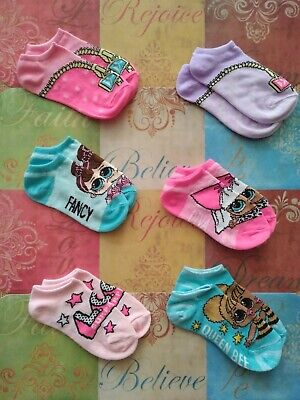 Girls LOL SURPRISE Socks***Now Available In Mix & Match Colors and Designs***