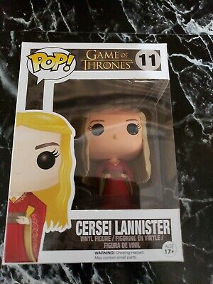 Funko POP Game of Thrones Cersei Lannister #11 (Red Dress) 2013 Vaulted