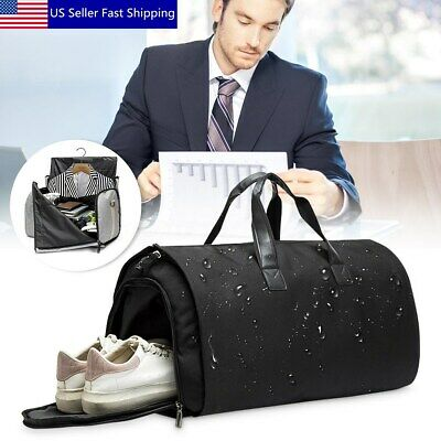Men Garment Bag Duffle Business Travel Suit Gym Waterproof Outdoor Sport Luggage