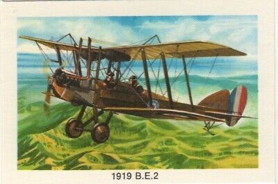 Tip Top Bread - Great Sunblest Air Race Cards.1919 B.E.2 (different)