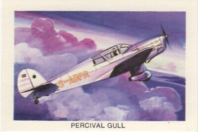 Tip Top Bread - Great Sunblest Air Race Cards.Percival Gull (different)