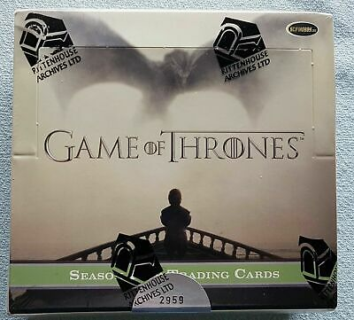 Game Of Thrones Season Five 5 Trading Cards Box (2016) LIMITIERT