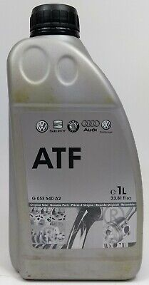 1 Litre Bottle Of New Genuine Vw Audi Atf Automatic Gearbox Oil Fluid G055540A2