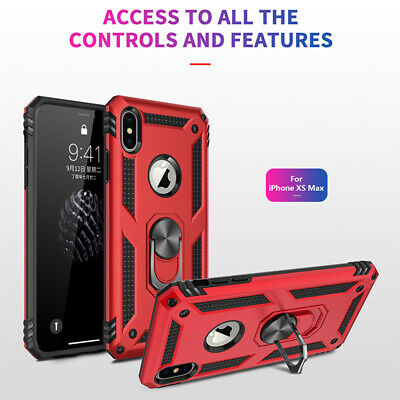 For Apple i Phone XS Max/XR/XS/X/8/7 Plus 6s Tough Shockproof Armor Hybrid Case