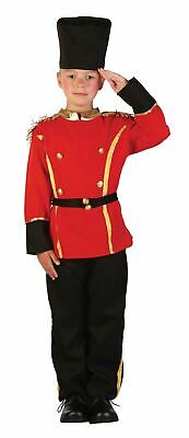 KIDS MILITARY ROYAL BRITISH QUEEN/'S GUARD Age 3-10 Boys Fancy Dress Costume