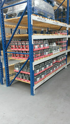 Redirack Pallet Racking - 4M X 1200/1100/900 Frames With 3700Mm Beams 2 Ton Udl