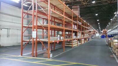 Redirack Pallet Racking 3.5M X 900/1100/1200 Frames With 3900Mm Beams 3 Ton Udl