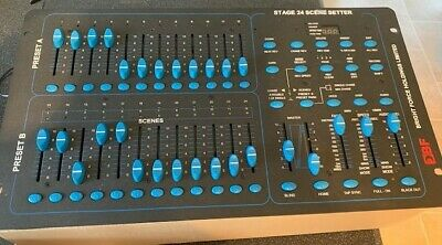 24 Channel Dmx Lighting Mixer Desk By Bright Force Holdings Bf Stage