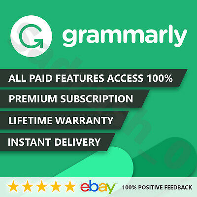 Grammarly 🌟 Premium Lifetime🌟 Account [Fast-Delivery] 100-Guaranteed! |SALE|
