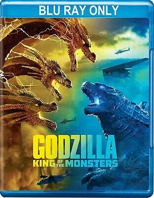 Godzilla: King of the Monsters (2019) BLU-RAY ONLY + CASE + ARTWORK *Unwatched*
