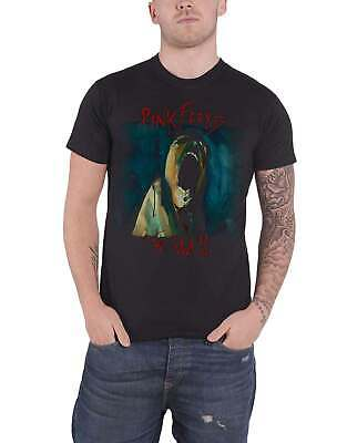 Pink Floyd T Shirt The Wall Scream Band logo new Official Mens Black
