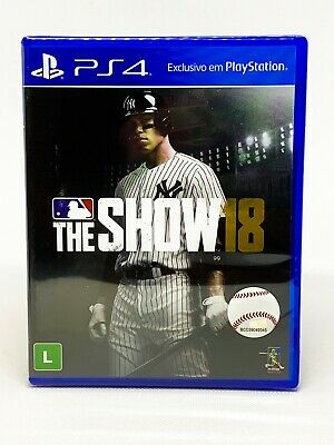 MLB The Show 18 - PS4 - Brand New | Portuguese Cover
