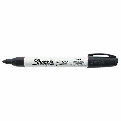 Sharpie® Uni® Paint Marker, Bullet Point, Black