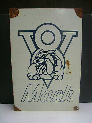 Mack V8 Trucks  Tin Sign Freepost Australia