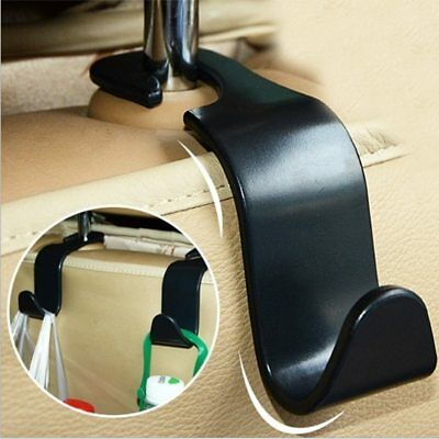 Car Seat Back Hooks Vehicle Hidden Headrest Hanger For Handbag Shopping Bag