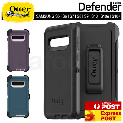 Otterbox Defender for Samsung S5 S6 S7 S8 S9 S10 S10e Plus Note 8 9 Hybrid Case