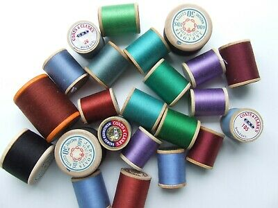Vintage sewing cottons