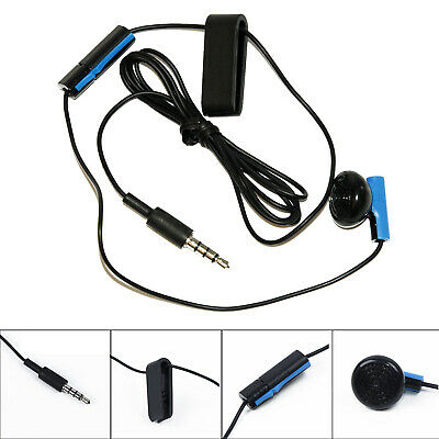 Best Original Playstation 4/PS4 Headset Earbud Microphone Earpiece Clip For Sony