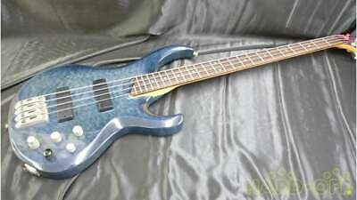 IBANEZ BTB400QM Blue Electric Bass Guitar (Used)