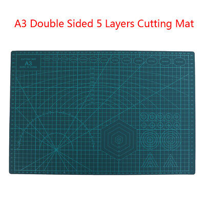 A3 Double Sided Cutting Mat Self-Healing Cut Pad Patchwork Tool Quilting Ruler.
