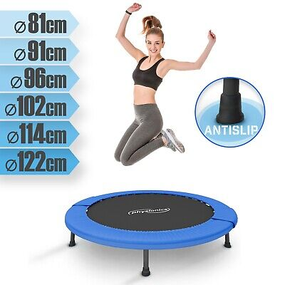 Jumping Fitness Trampolin Jumper Indoor & Outdoor Sport Minitrampolin Ø 81-122cm
