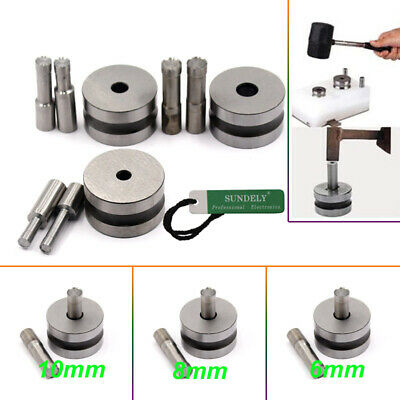6/8/10mm Round Stamp Die Punch Mold Kit For Pill Press Machine Equipment TDP5 AU