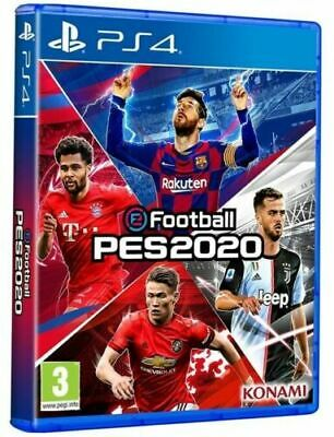 Efootball Pes 2020 Ps4 Italiano Play Station 4 Gioco Pro Evolution Soccer 2020