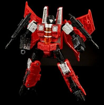 In Hand Transformers Generations Selects War For Cybertron Siege Red Wing