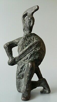 Roman Bronze Soldier / Gladiator Figure AD 200-400
