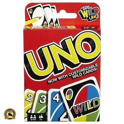 Uno Original Playing Card Game Family Games Entertainment Mattel Adults Kids NEW
