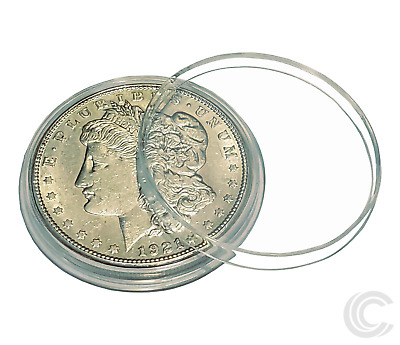 50 w// BOX 50 IKE EISENHOWER DOLLAR Direct-Fit Air 38mm Coin Capsule Holder QTY