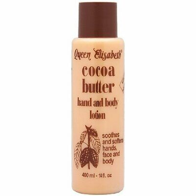 Queen Elizabeth Cocoa Butter Hand & Body Lotion Kakaobutter Lotion - 400 mL