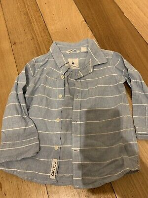 Country Road Baby Boys Shirt Size 12-18 Months Worn Once