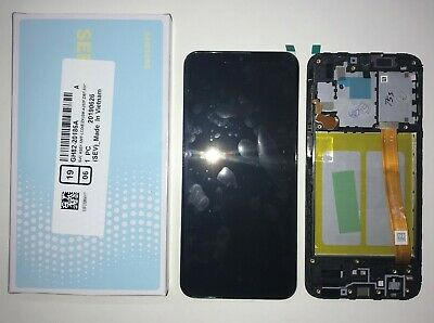 Display Lcd Touch Screen Vetro Schermo Originale Samsung A20E Sm-A202F Nero +Kit