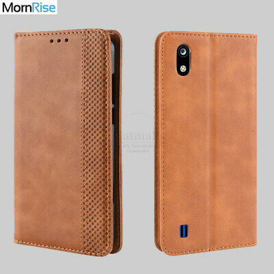 Luxury Retro Magnetic Leather Flip Cover For ZTE Blade A7 A5 2019 Case Wallet