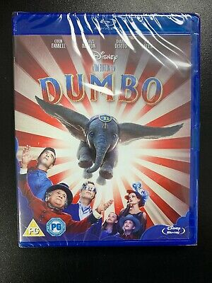 Dumbo (2019) - Blu Ray - Official UK Stock New & Sealed -Colin Farrell