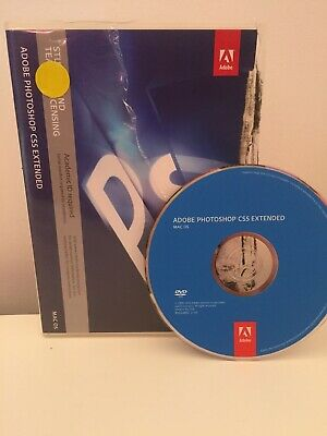 Adobe Creative Suite CS5 Photoshop Extended - Mac - Full Retail License
