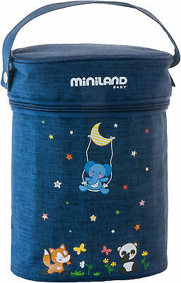 blau Miniland Baby 89194 THERMIBAG DOUBLE DENIM
