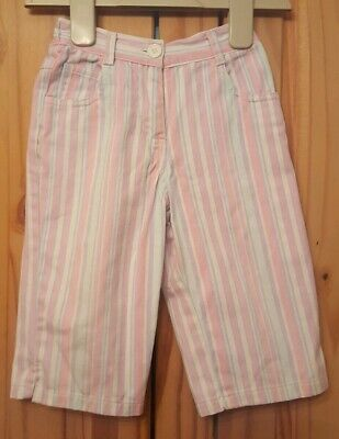 girls cropped trousers age 2-3 years girl to girl