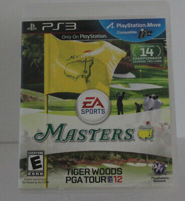 Tiger Woods PGA Tour 12: The Masters - Sony PlayStation 3 Game