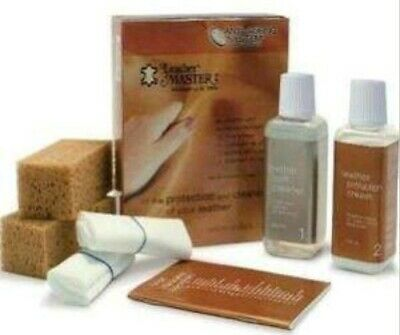 Leather Master by Dr. Tork Anti Aging System Cleaning Kit 250ml for Leather Care