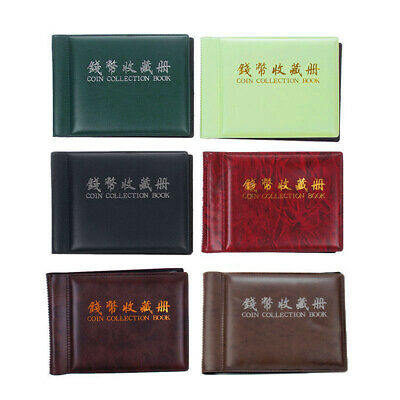 Coin Album Collection Storage Collecting Pockets 35*40mm Container Lightweight