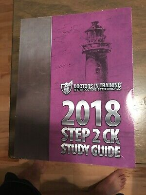 DOCTORS IN TRAINING Step 2 CK DIT 2018 USMLE Price Negotiable