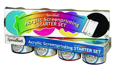 Speedball Acrylic Screenprinting Starter Set