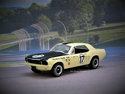 SCCA 1967 SHELBY Mustang Terlingua Racing Team Jerry Titus