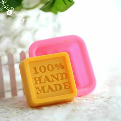 Square Silicone Soap Mold Mould DIY Hand Made Soap Molds U7D5 · S3Z9 M4Y6