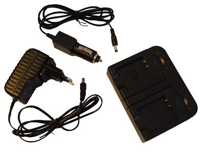 2in1 CHARGEUR SET POUR OLYMPUS X940 X-940