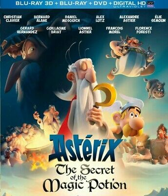 Asterix: The Secret of the Magic Potion 3D BLURAY  (no region code required )